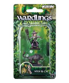 WizKids - WZK Wardlings - Girl Witch & Witch's Cat
