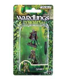 WizKids - WZK Wardlings - Zombie (Male) & Zombie (Female)