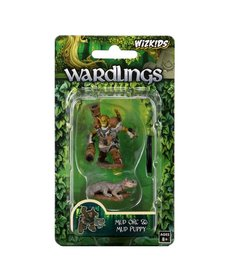 WizKids - WZK Wardlings - Mud Orc & Mud Puppy