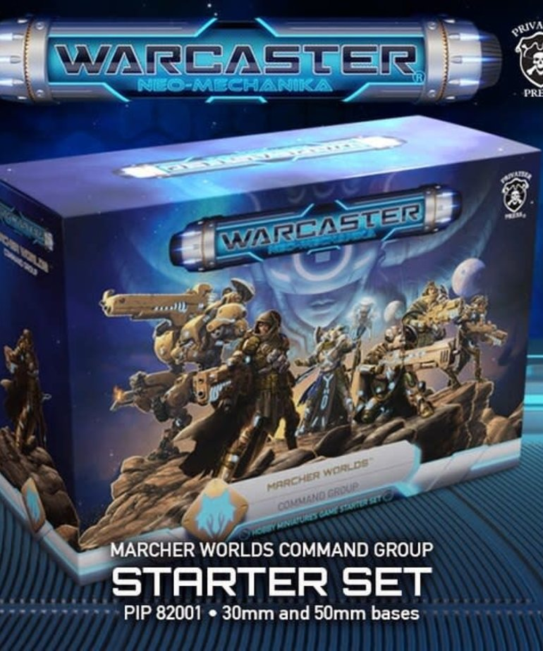 Privateer Press - PIP Warcaster: Neo-Mechanika - Marcher Worlds - Command Group - Starter Set