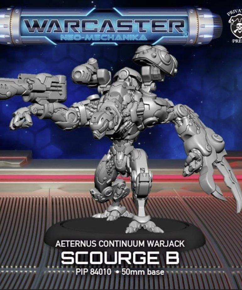 Privateer Press - PIP Warcaster: Neo-Mechanika - Aeternus Continuum - Scourge B Variant - Light Warjack