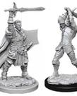 WizKids - WZK D&D: Nolzur's Marvelous Unpainted Miniatures - Male Human Paladin