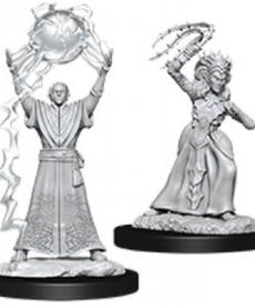 WizKids - WZK D&D: Drow Mage & Drow Priestess