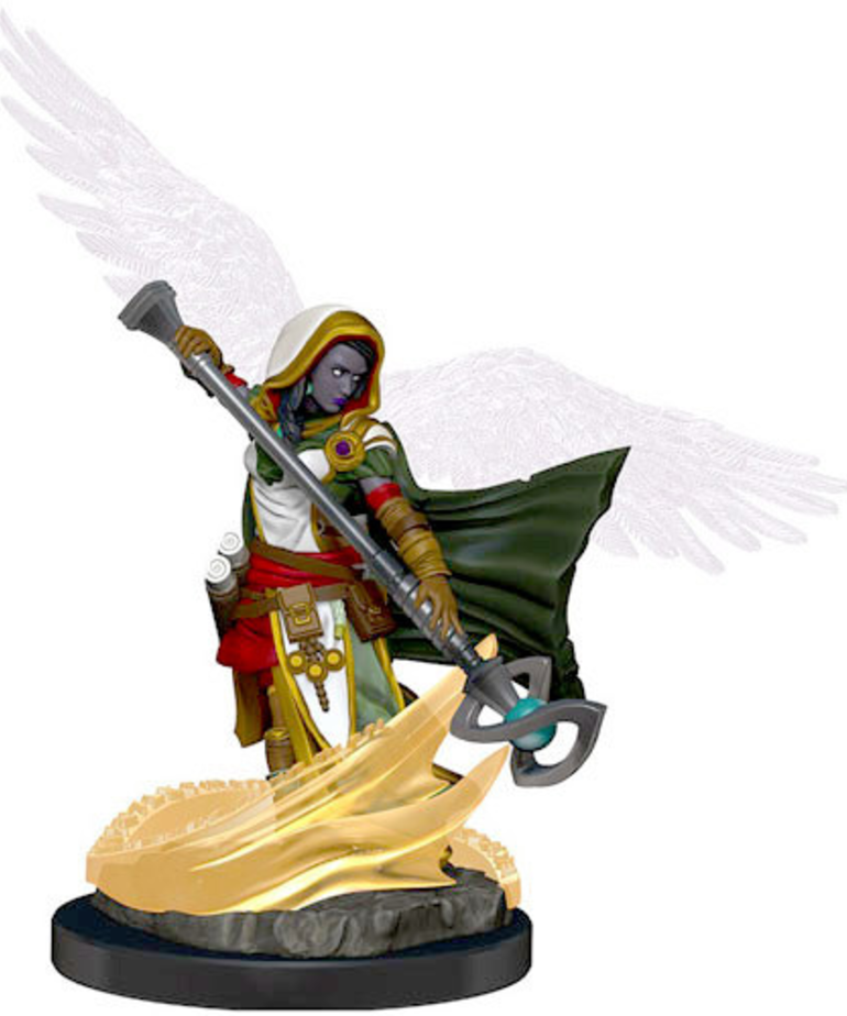 WizKids - WZK D&D: Icons of the Realms - Premium Painted Figures - Aasimar Wizard (She/Her/They/Them)