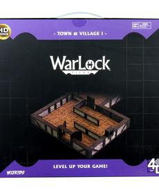 WizKids - WZK WarLock Tiles - Town & Village