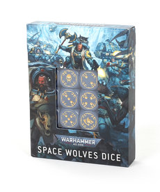 Games Workshop - GAW Dice Set: Space Wolves