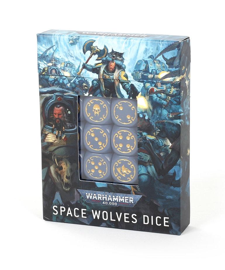 Games Workshop - GAW Warhammer 40K - Dice Set: Space Wolves