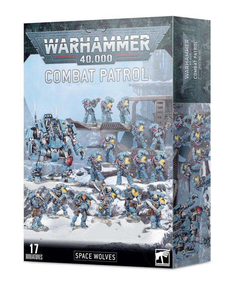 Games Workshop - GAW Warhammer 40k - Combat Patrol: Space Wolves