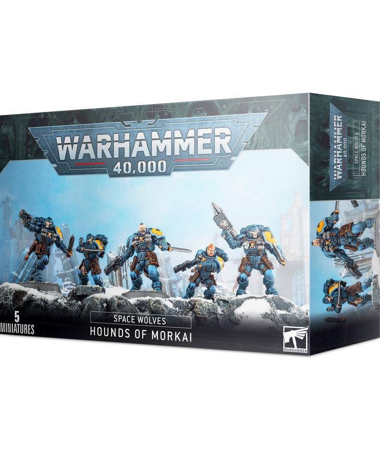 Games Workshop - GAW Warhammer 40K - Space Wolves - Hounds of Morkai