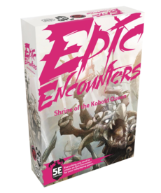 Steamforged Games LTD - STE Epic Encounters - Shrine of the Kobold Queen