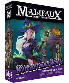 Wyrd Miniatures - WYR Malifaux 3E - Neverborn - Witches & Woes - Rotten Harvest Special Edition
