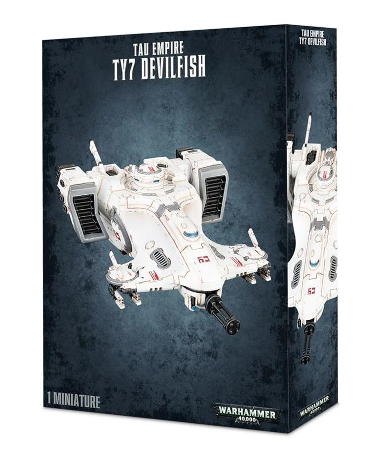 Games Workshop - GAW Warhammer 40k - Tau Empire - TY7 Devilfish