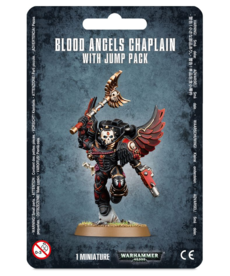 Games Workshop - GAW Blood Angels - Chaplain With Jump Pack