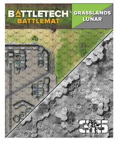 Catalyst Game Labs - CYT Battletech - Battle Mat - Grasslands Lunar