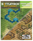 Catalyst Game Labs - CYT Battletech - Battle Mat - Grasslands Savanna