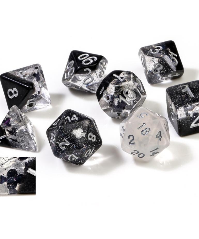 Sirius Dice - SDZ Sirius Dice - Polyhedral 7-Die Set - Clubs