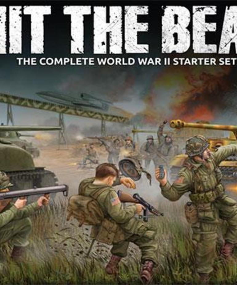 Gale Force Nine - GF9 World of Tanks - Hit the Beach - The Complete World War II Starter Set