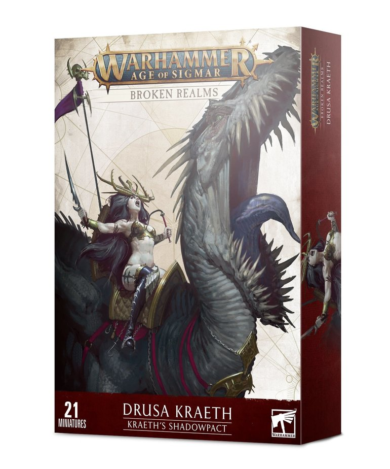 Games Workshop - GAW Warhammer Age of Sigmar - Broken Realms: Kraeth's Shadowpact NO REBATE