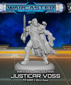 Privateer Press - PIP Justicar Voss