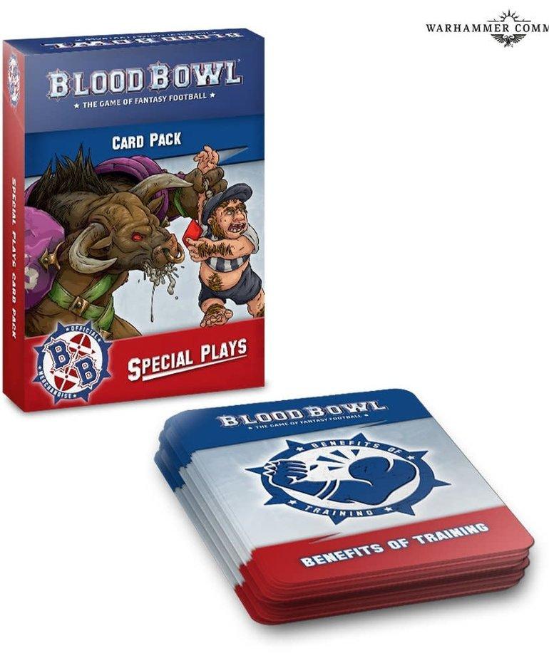 Games Workshop - GAW Blood Bowl - Special Plays - Card Pack