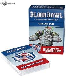 Games Workshop - GAW Necromantic Team Cards