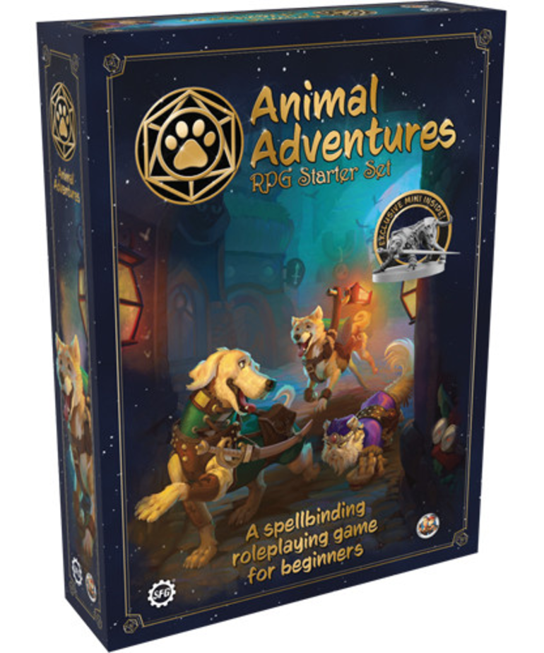 Steamforged Games LTD - STE Animal Adventures - RPG Starter Set