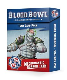 Games Workshop - GAW Necromantic Horror Team - Team Card Pack