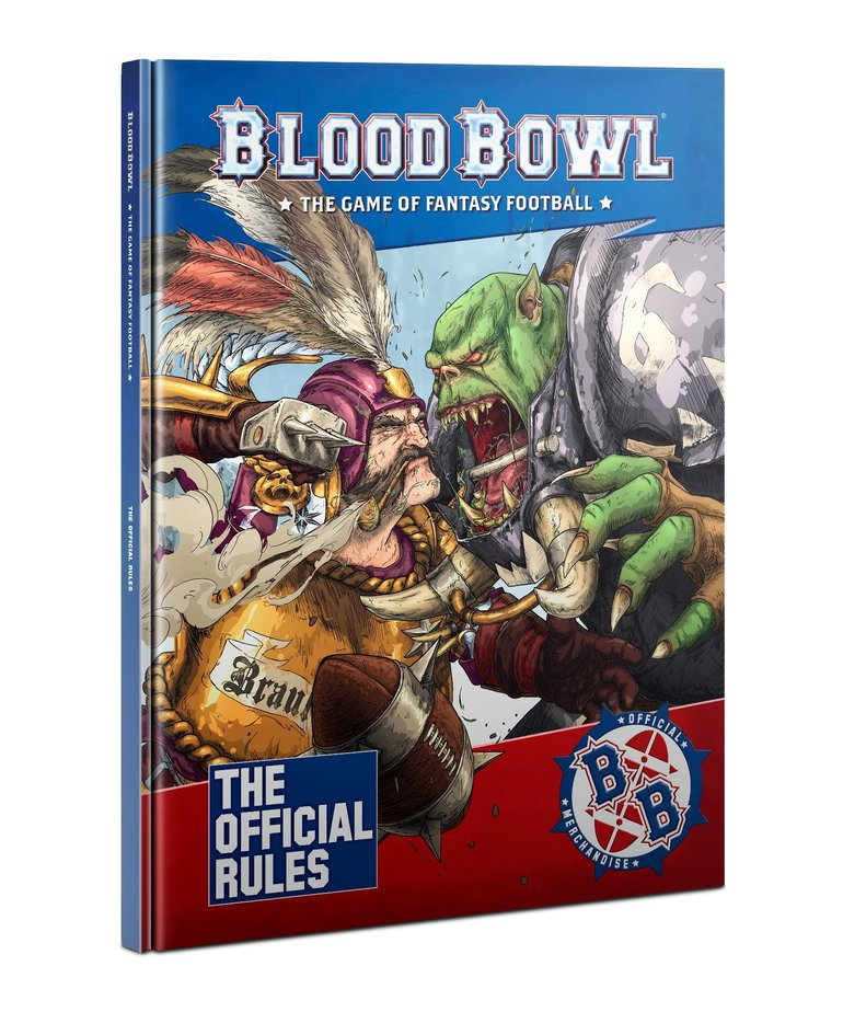Games Workshop - GAW Blood Bowl - The Official Rules