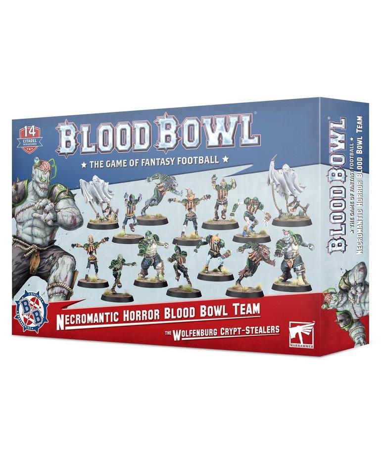 Games Workshop - GAW Blood Bowl - Necromantic Horror Team - The Wolfenburg Crypt-Stealers