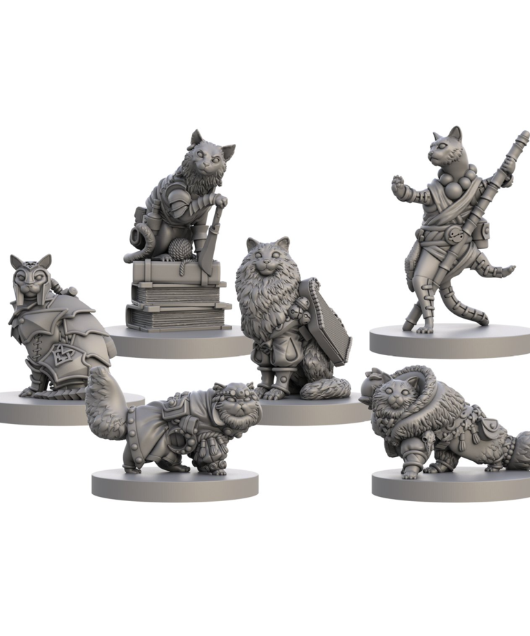 Steamforged Games LTD - STE Animal Adventures: Tales of Cats & Catacombs - Questing Tooth & Claw: Volume 2
