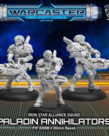 Privateer Press - PIP Warcaster: Neo-Mechanika - Iron Star Alliance - Paladin Annihilators - 3 Model Squad