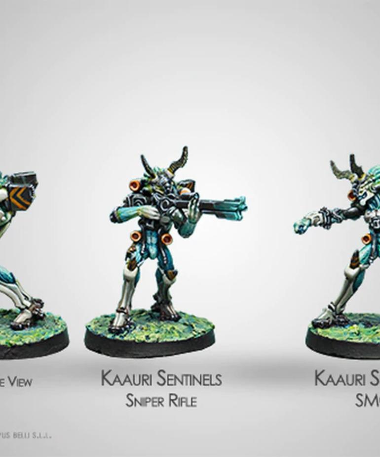 Corvus Belli - CVB Infinity: Tohaa - Kaauri Sentinels (Sniper Rifle, Submachine Gun) BLACK FRIDAY NOW