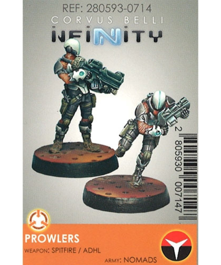 Corvus Belli - CVB Infinity: Nomads - Prowlers (2) BLACK FRIDAY NOW