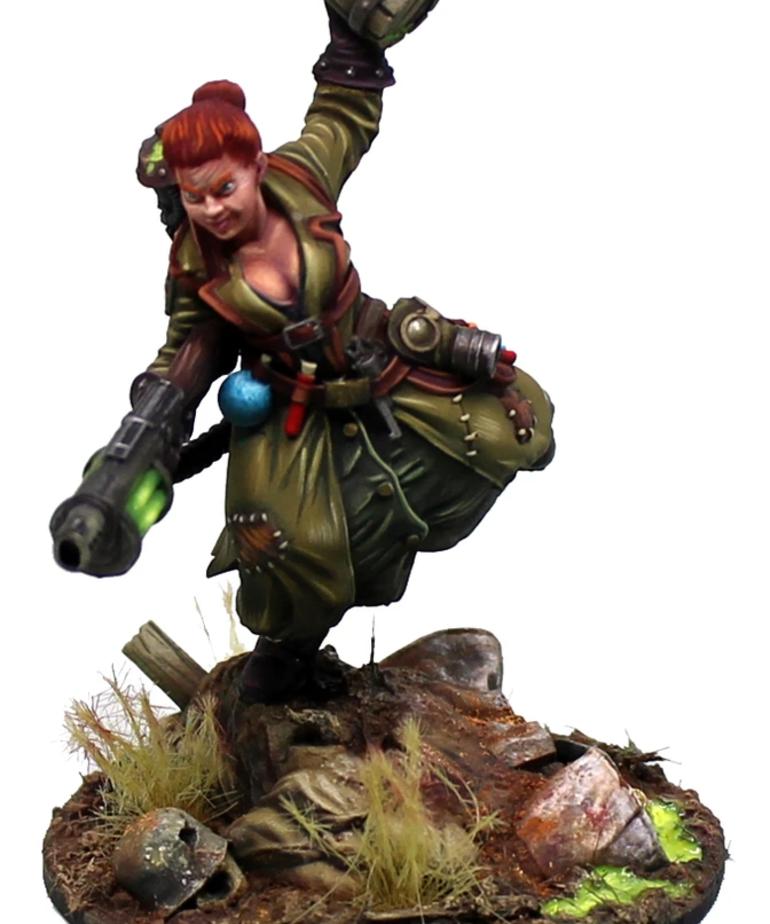 Gunmeister Games - GRG Judgement - Loribela - Dwarf Alchemist (Supporter) BLACK FRIDAY NOW