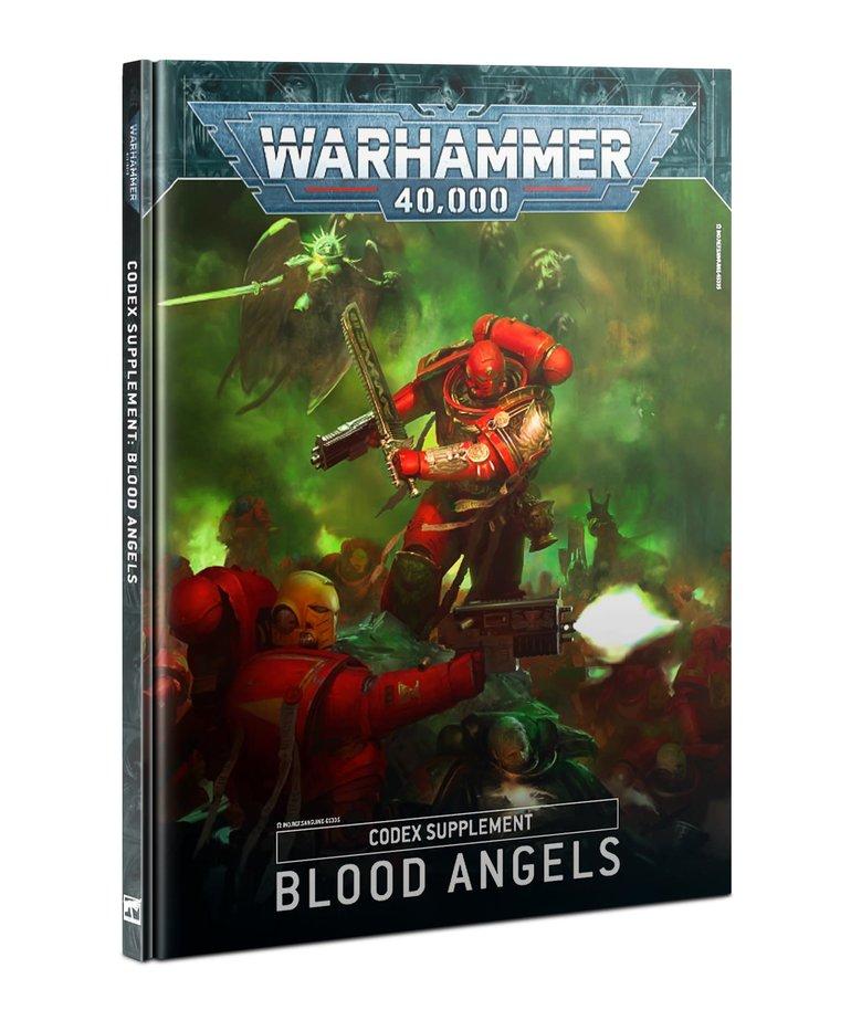 Games Workshop - GAW Warhammer 40K - Codex Supplement - Blood Angels