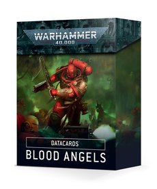 Games Workshop - GAW Datacards - Blood Angels NO REBATE