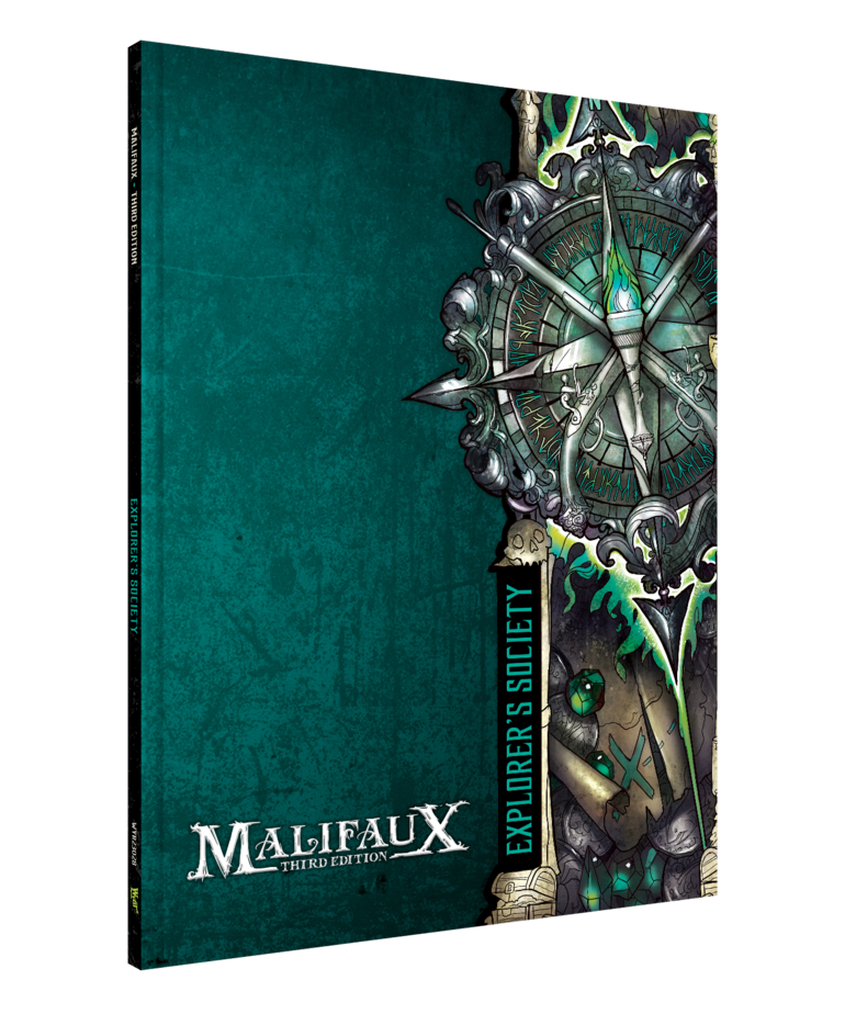Wyrd Miniatures - WYR Malifaux 3E - Explorer's Society - Faction Book
