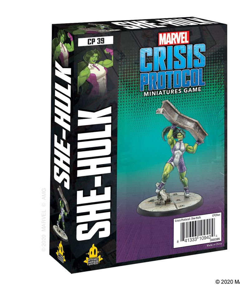 Asmodee - ASM Marvel: Crisis Protocol - She-Hulk - Character Pack