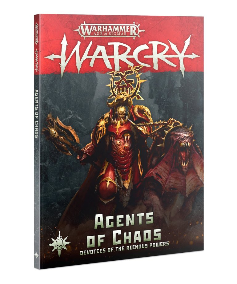 Games Workshop - GAW Warhammer Age of Sigmar: Warcry - Tome - Agents of Chaos