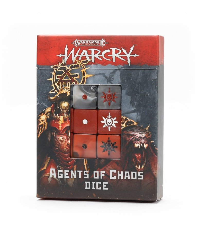 Games Workshop - GAW Warhamer Age of Sigmar: Warcry - Agents of Chaos Dice