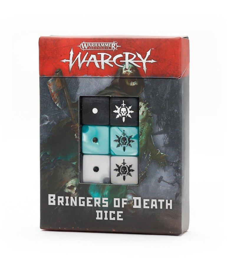 Games Workshop - GAW Warhamer Age of Sigmar: Warcry - Bringers of Death Dice