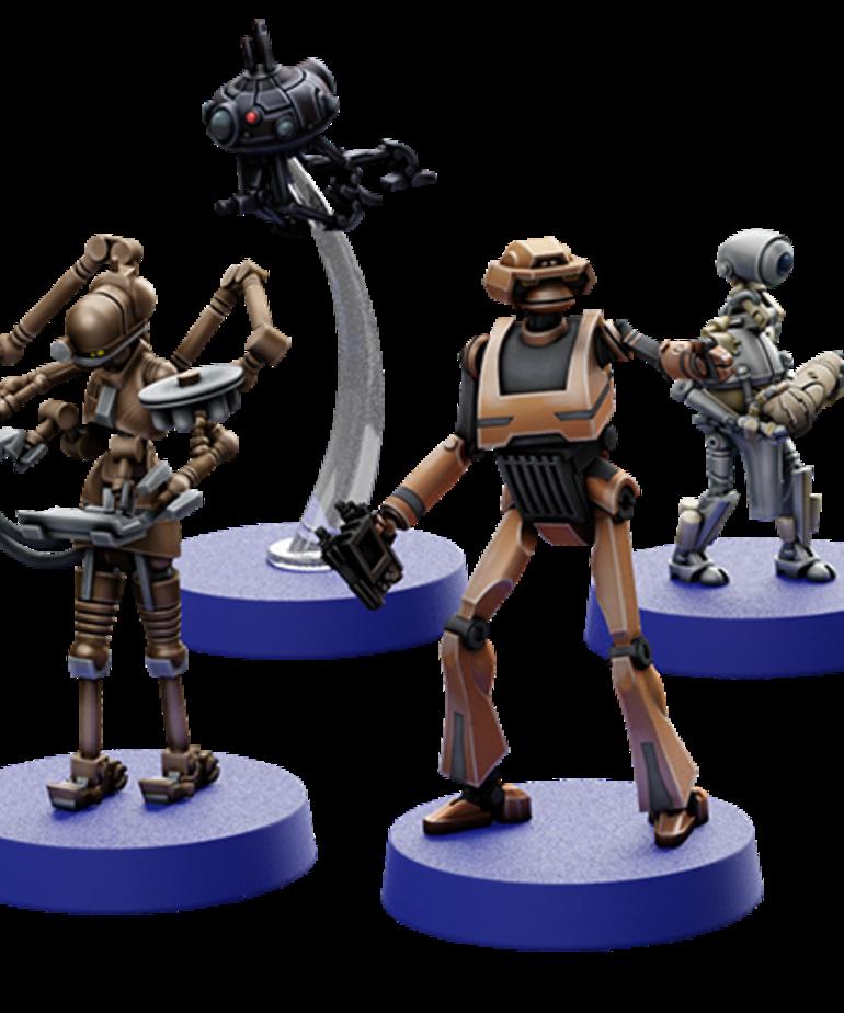 Fantasy Flight Games - FFG PRESALE - Star Wars: Legion - Separatist Alliance - Separatist Specialists - Personnel Expansion - 02/19/2021