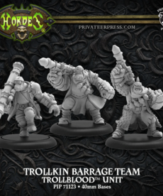 Privateer Press - PIP Trollkin Barrage Team