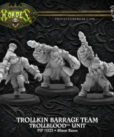 Privateer Press - PIP Trollkin Barrage Team