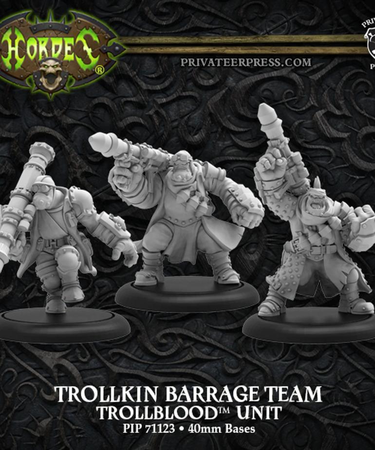 Privateer Press - PIP Hordes: Trollbloods - Trollkin Barrage Team - Unit