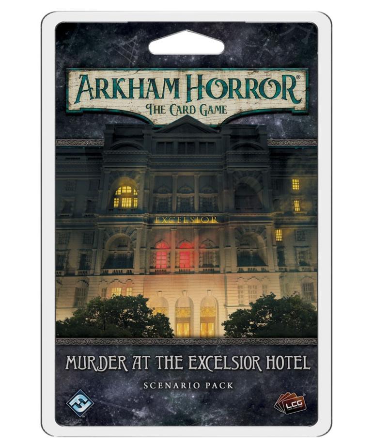 Fantasy Flight Games - FFG Arkham Horror: The Card Game - Murder at the Excelsior Hotel - Scenario Pack