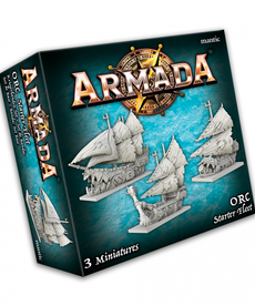 Mantic Entertainment, LTD - MGC Armada - Orc Starter Fleet
