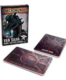 Games Workshop - GAW Van Saar Gang Tactics Cards