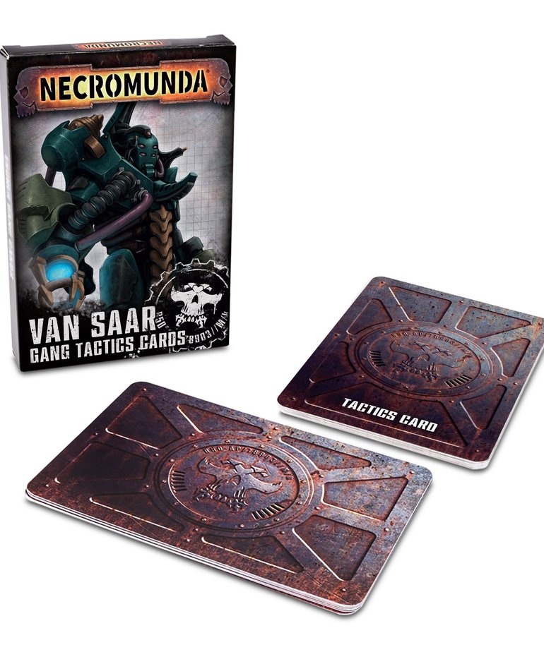 Games Workshop - GAW Necromunda - Van Saar Gang Tactics Cards