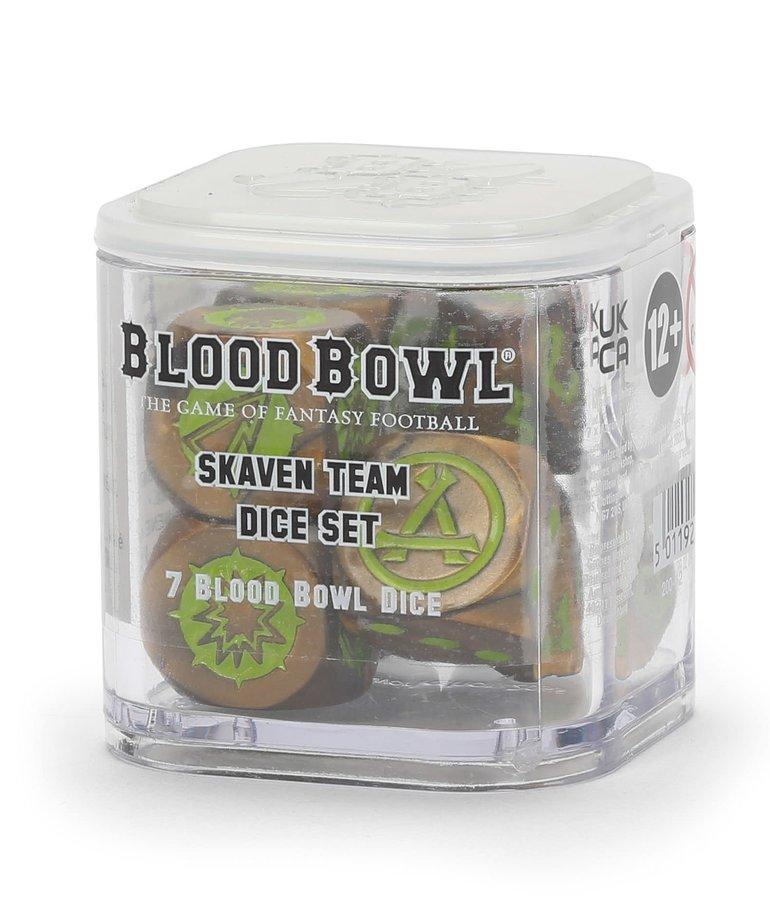 Games Workshop - GAW Blood Bowl - Skaven Team - Dice Set
